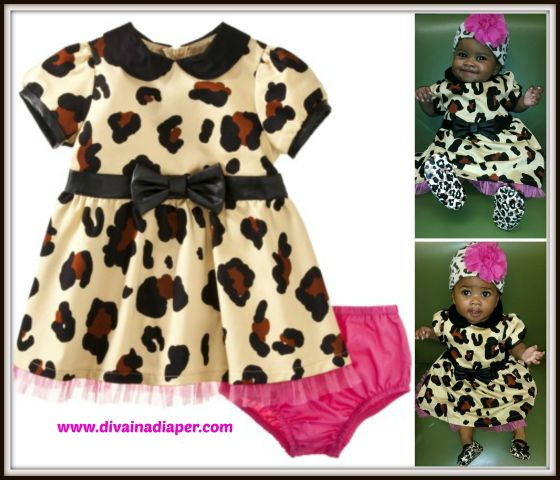 Leopard Dress Collage